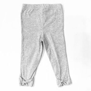 Carter's Grey Leggings with Bows